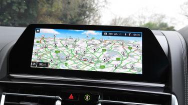 BMW 8 Series - sat-nav
