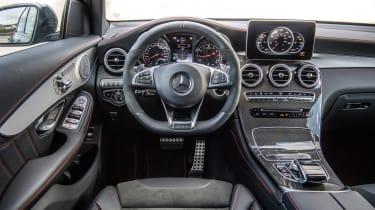 Mercedes-AMG GLC 43 Coupe interior