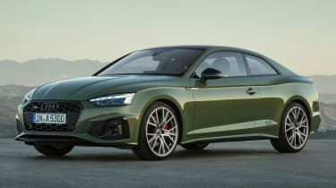 2019 Audi A5  - front 3/4 static