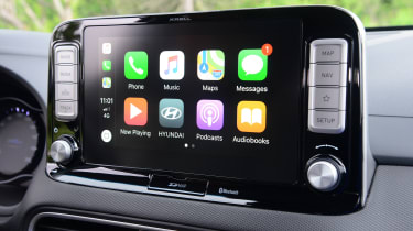 Hyundai Kona electric Apple CarPlay