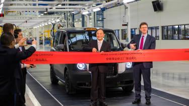 London Taxi Company - ribbon cutting