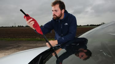 Winter driving - wiper blades