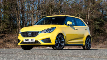 MG3 - front static