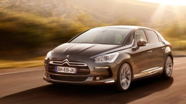 Citroen DS5 2.0 HDi front tracking
