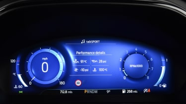 Ford Focus ST automatic - dials
