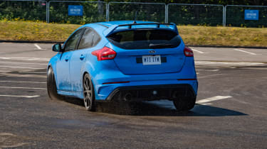Ford Focus RS tight cornering