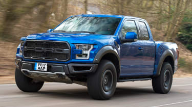 Ford F-150 Raptor pick-up truck - front