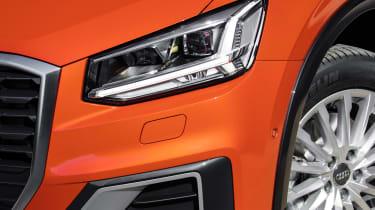 Audi Q2 - front light detail