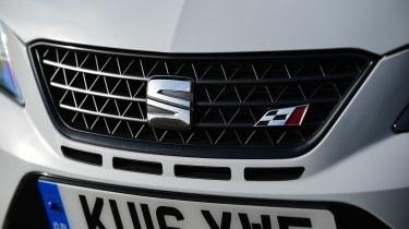 SEAT Ibiza Cupra vs VW Polo GTI - grille