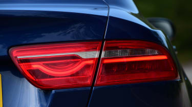 Jaguar XE Long term test - rear light detail