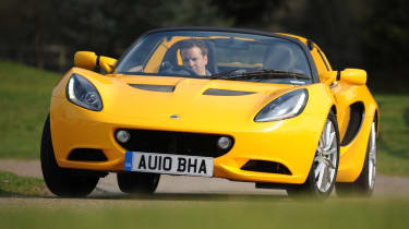 The new Lotus Elise.