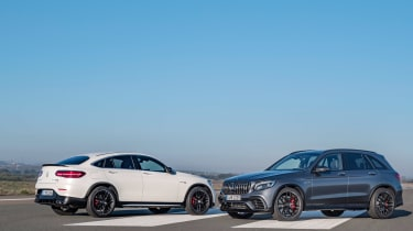 Mercedes-AMG GLC 63 and Coupe
