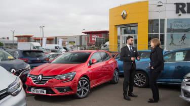 Renault Megane long term test - first report header