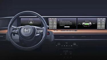 Honda Urban EV interior teaser full