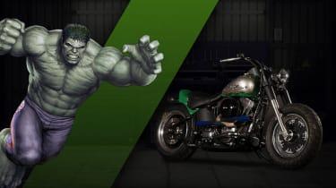 Harley Davidson Marvel Super Hero Customs - Hulk Strength