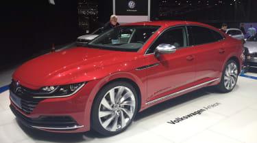 Volkswagen Arteon official - Elegance Geneva front