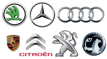 Car badges history