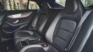 Mercedes-AMG GT 4-Door Coupe rear seats