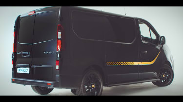 Renault Trafic van sponsored