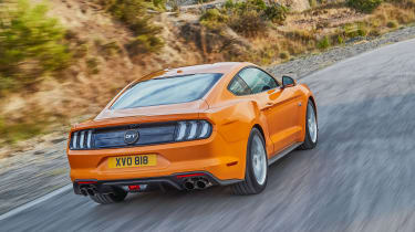 2018 Ford Mustang rear quarter
