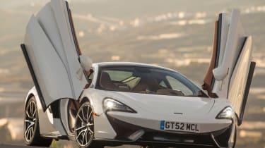 McLaren 570GT - front doors open