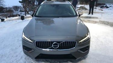 Volvo V60 - reveal full front