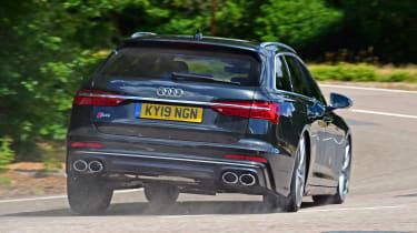 Audi S6 Avant - rear action