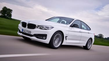 BMW 340i GT - front action
