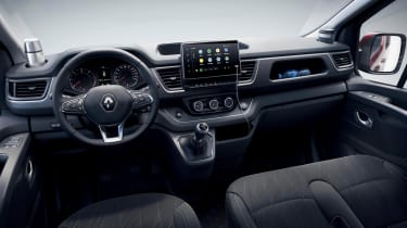 Renault Trafic van - interior