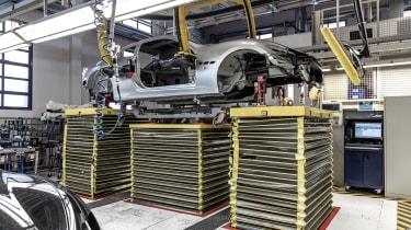Maserati GranTurismo Zeda - production