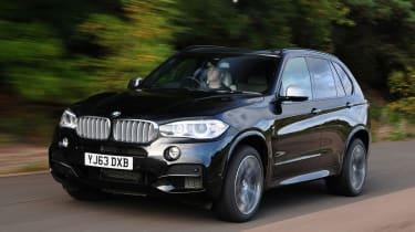 BMW X5 M50d Front action