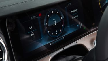 New Mercedes E-Class 2016 studio screen dial
