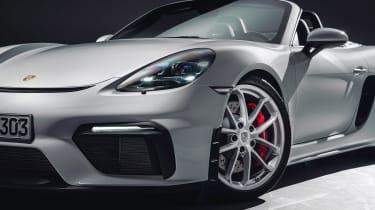 Porsche 718 Boxster Spyder - wheel