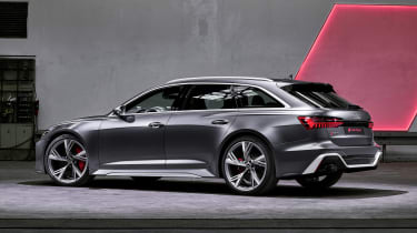Audi RS 6 Avant - rear static
