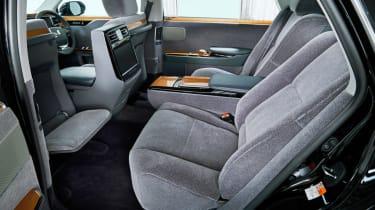 2018 Toyota Century - rear interior