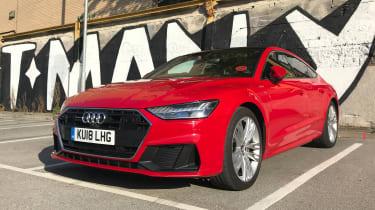 Audi A7 Sportback - Front Parked