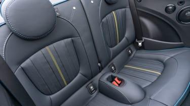 MINI Sidewalk Convertible - rear seats