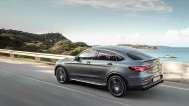 Mercedes-AMG GLC 43 Coupe 2019 facelift rear