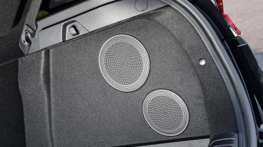 Kia Ceed GT-Line S long termer - boot speakers