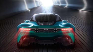Aston Martin Vanquish Vision concept - full rear