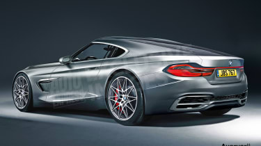 BMW 6 Series exclusive image - rear
