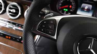 Mercedes GLC Coupe - steering wheel