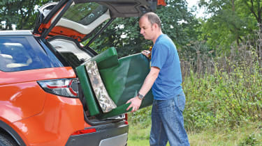 Land Rover Discovery Sport long-term - fourth report loadspace