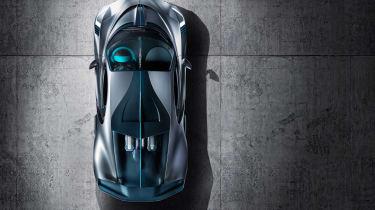 Bugatti Divo - above