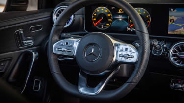 Mercedes A-Class Saloon - steering wheel
