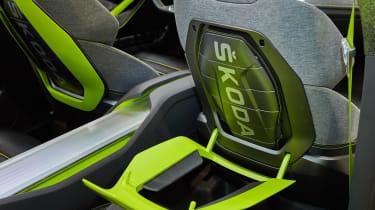 Skoda Vision X concept - front seats