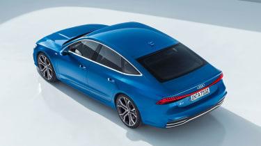 Audi A7 Sportback - above rear