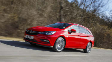 Most economical cars - Vauxhall Astra Tourer