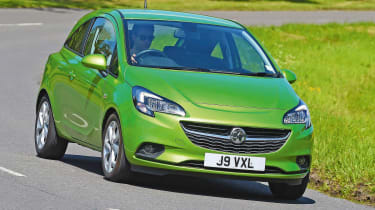 Vauxhall Corsa - front