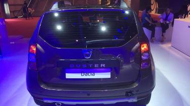 Dacia Duster Paris rear